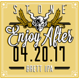 Stone Enjoy After 04.20.17 Brett IPA Beer