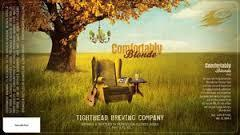 Tighthead Comfortably Blonde beer Label Full Size