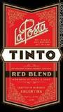 La Posta Tinto wine