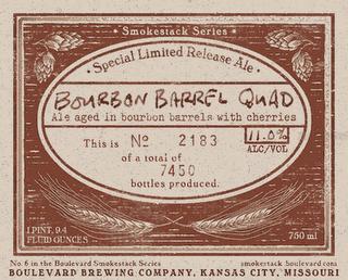 Boulevard Bourbon Barrel Quad Beer