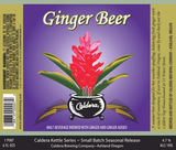 Caldera Ginger Beer Beer