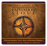 Bell's Bourbon Barrel Aged Expedition Stout beer