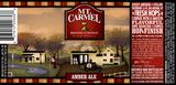 Mt. Carmel Amber Ale beer