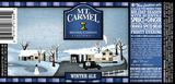 Mt. Carmel Winter Ale beer