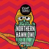 Right Brain Northern Hawk Owl beer
