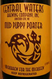 Central Waters Mud Puppy Porter Nitro Beer