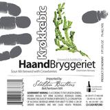 Haandbryggeriet Krokkebic beer
