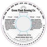 Green Flash I Plead The Fifth beer