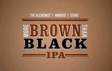 Alchemist Ninkasi Stone More Brown Than Black IPA beer