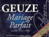 Boon Oude Geuze Mariage Parfait 2007 beer