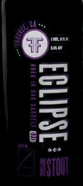 FiftyFifty Imperial Eclipse Elijah Craig 12 Year beer Label Full Size