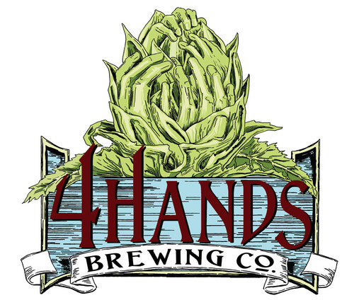 4 Hands City Wide beer Label Full Size