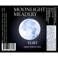 Moonlight Meadery Flirt beer Label Full Size