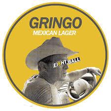 Ei8ht Ball Gringo beer Label Full Size