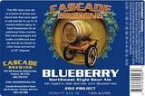 Cascade Blueberry 2015 beer