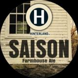 Hinterland Saison beer