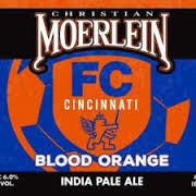 Christian Moerlein/FC Cincinnati Blood Orange IPA beer Label Full Size
