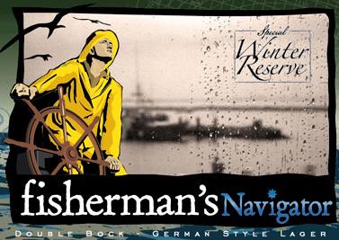 Cape Anne Fisherman's Navigator beer Label Full Size