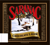 Saranac Chocolate Lager beer