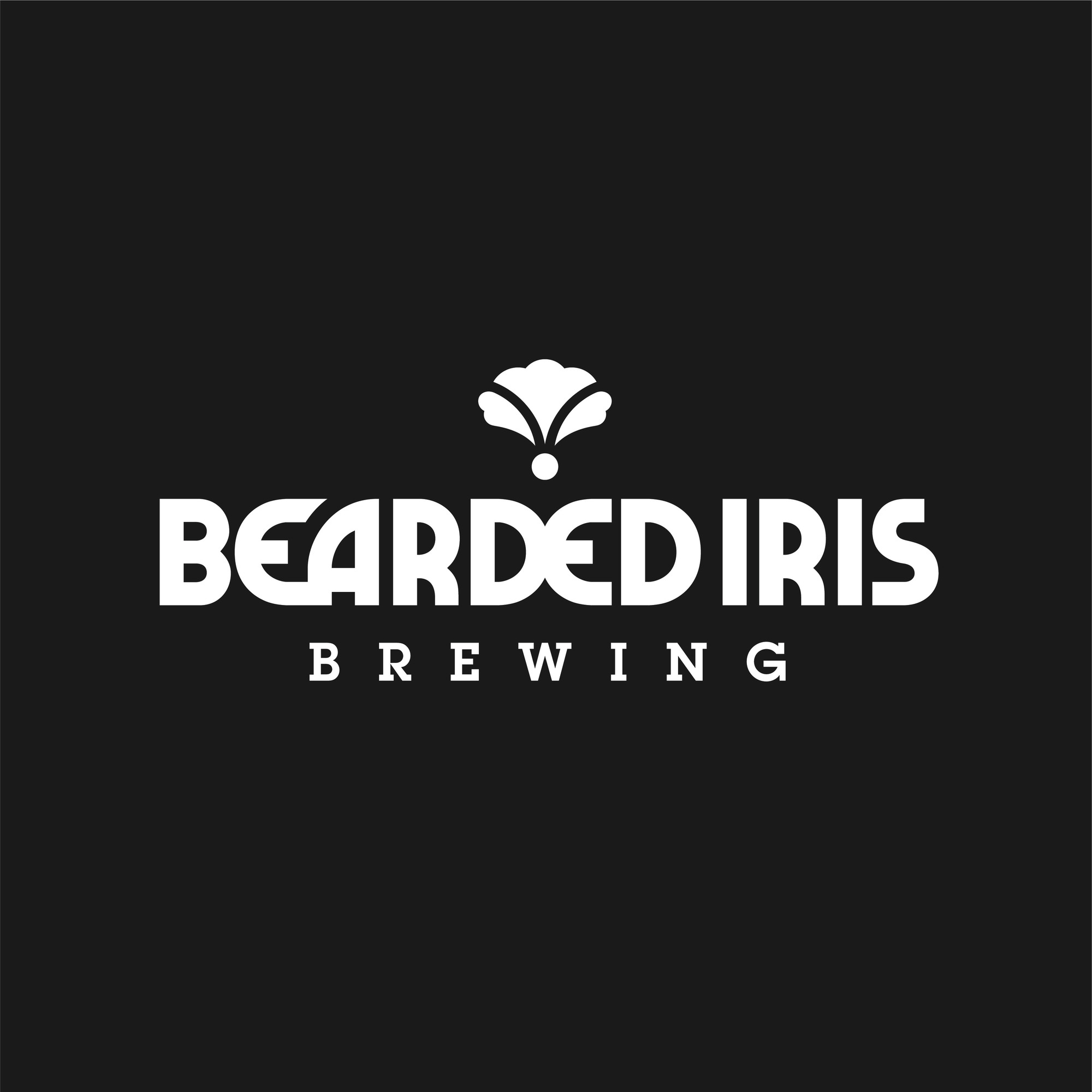 Bearded Iris Homestyle beer Label Full Size