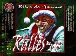 La Rulles Cuvée Meilleurs Voeux beer Label Full Size
