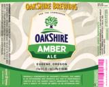 Oakshire Amber beer