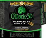 Oakshire O'Dark:30 beer