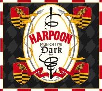 Harpoon Munich Dark beer Label Full Size