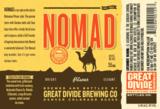 Great Divide Nomad Pilsner beer