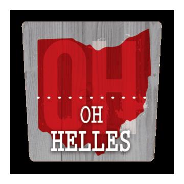 Moeller Brew Barn - OH Helles beer Label Full Size
