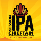 Half Day Chieftain Session IPA beer