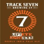 Track 7 Left Eye Right Eye Double IPA beer
