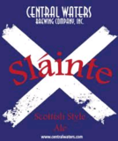Central Waters Slainte Scottish Style Ale Beer