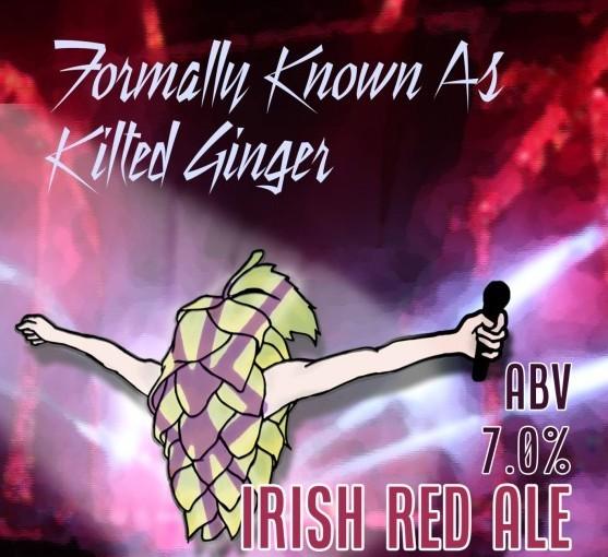 No Worries | FKA Kilted Ginger beer Label Full Size