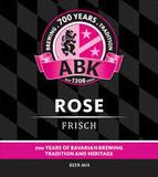 ABK Rose Frisch beer