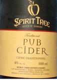 Spirit Tree Pub Style Cider Beer