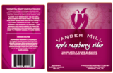 Vander Mill Apple Raspberry Cider beer