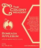 Colony Bomeada Applebum beer