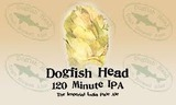 Dogfish Head 120 Minute IPA 2016 beer Label Full Size