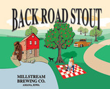 Millstream Back Road Stout beer