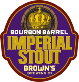Browns Bourbon Barrel Imperial Stout beer