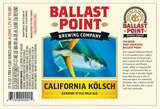Ballast Point California Kölsch Beer