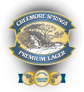 Creemore Springs Premium Lager beer Label Full Size