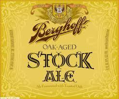 Berghoff Old Stock Ale beer Label Full Size