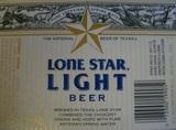 Lone Star Light beer