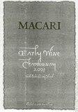 Macari Collina Chardonnay 2015 wine