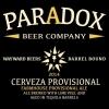 Paradox Cerveza Provisional beer