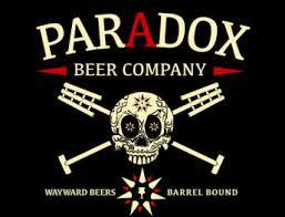 Paradox Skully Barrel No. 38 beer Label Full Size