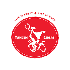 Tandem Damson beer Label Full Size