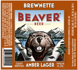 Beaver Brewnette Amber Lager beer